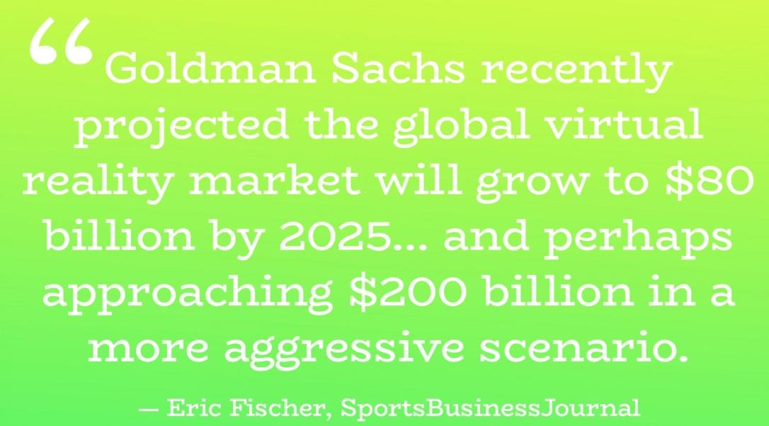 Goldman Sachs - Virtual Reality